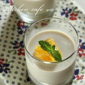 アールグレイミルクブラマンジェ