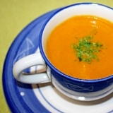 ミネラルたっぷり!ローストかぼちゃのスープ★