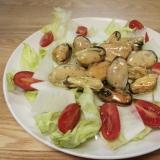 ボイルムール貝で簡単にイタリアンサラダ