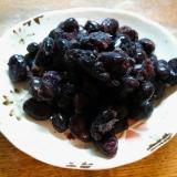 赤空豆の甘煮