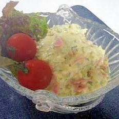 スプーンで食べる!?タルタルピーマンサラダ