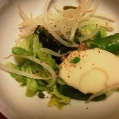 春の若竹サラダ