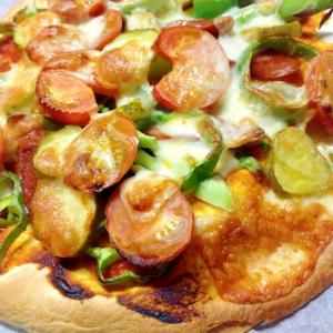 フラワートルティーヤソーセージpizza