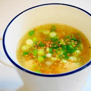 心温まるスープ!豆腐と野菜の中華スープ