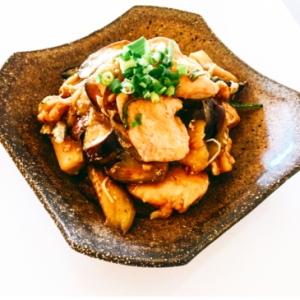 美味しいよっ♬ナスと鶏胸肉のすっぱ煮