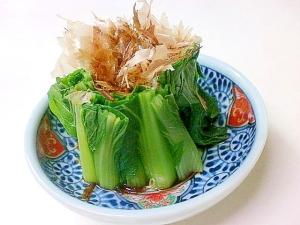 おいしく茹でてサッパリ食べる小松菜
