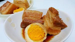 フライパンで簡単☆しっかり味の豚の角煮