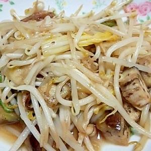 余り野菜炒め