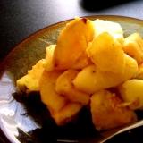 甘酸っぱいリンゴとさつま芋のおやつ