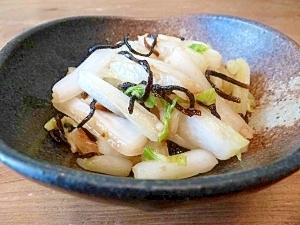 超簡単★にんにく香る白菜の即席漬物
