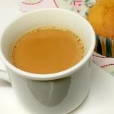 香辛料無し インドのお茶チャイ♪ ミルクティー ♪