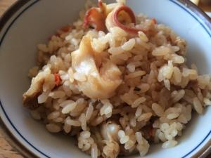 簡単シンプルな北海道のホッキ飯