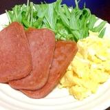沖縄料理「ポークたまご」