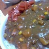 豆とキノコのカレー