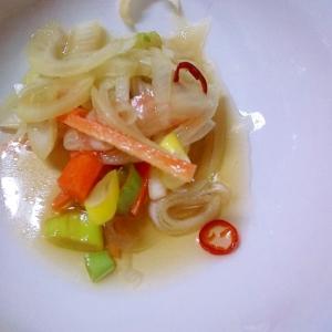 野菜の南蛮酢