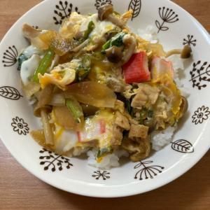 具材多めの卵丼