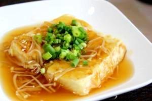 ボリューム満点♪あんかけ豆腐ステーキ