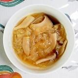圧力鍋で簡単、白菜のスープ~♪