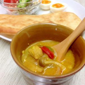 チキンカレースープ