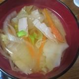 包まず簡単ワンタンスープ