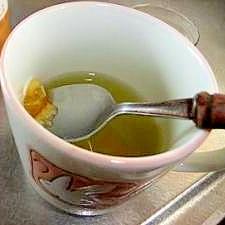 甘い?渋い? マーマレード 緑茶