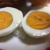 フードジャーでほったらかしゆで卵