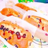 ブルーベリー入り♡パウンドケーキ