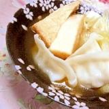 ダシダde❤白菜と厚揚げ&水餃子ブッ込み鍋❤