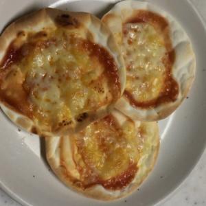 お手軽 ミニピザ