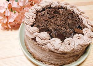 軽くてふんわりなチョコレートケーキ