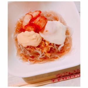 春雨de冷麺♪