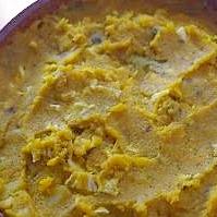 かぼちゃと里芋のカレー味マッシュ・サラダ