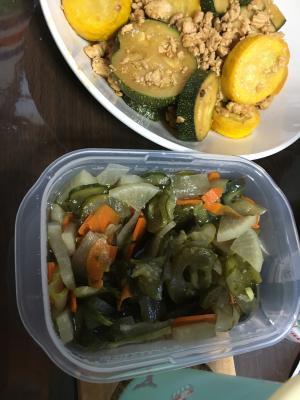 色々野菜の味漬物
