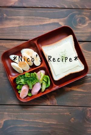 魚肉ソーセージとブロッコリーのコンソメ炒め