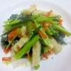 小松菜の塩麹炒め