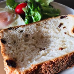 HBで簡単☆レーズン食パン