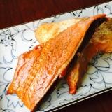 とってもスモーキー#甘塩鮭の燻製