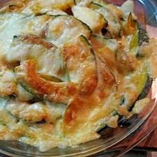 南瓜のチーズ焼き