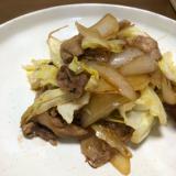 豚と野菜の焼肉炒め