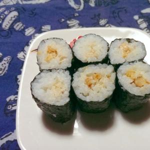 カニマヨの細巻き寿司