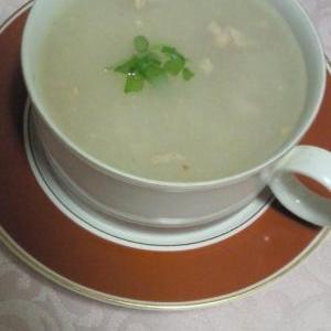 温まるとろーりれんこんスープ♪