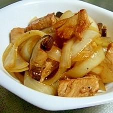 鶏肉と玉ねぎの甘酢炒め