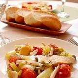 香味野菜と鰆のアクアパッツァ