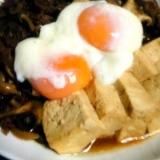 *すき焼き風な簡単肉豆腐*