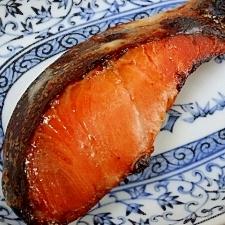 うす塩紅鮭にひと手間☆ 「紅鮭粕漬け」