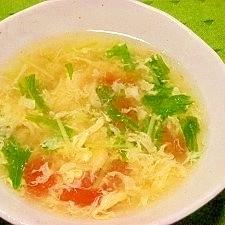 トマ卵スープ