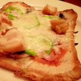 フライパン&食パンで☆サクサクなんちゃってピザ
