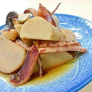 里芋とスルメイカの甘煮