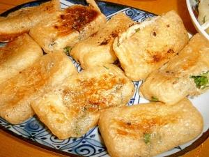 簡単おいしい!☆お揚げの味噌サンド☆