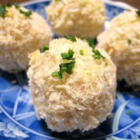 高野豆腐とじゃがいもコロッケ